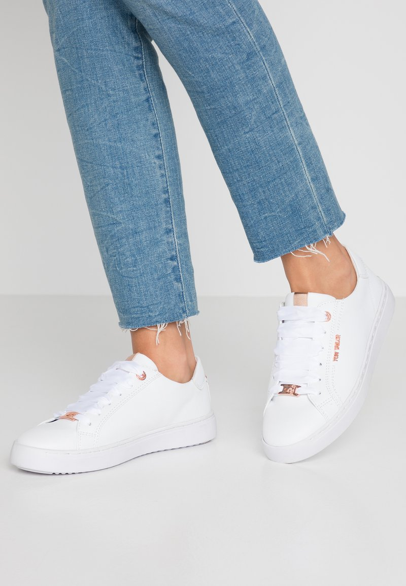 TOM TAILOR - Sneaker low - white