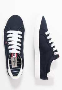 TOM TAILOR - Baskets basses - navy - 3