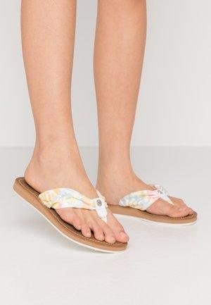 T-bar sandals - pastel multicolor