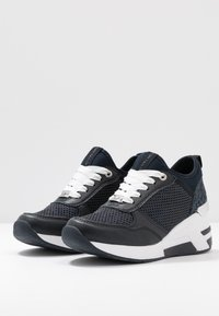 TOM TAILOR - Baskets basses - navy - 4
