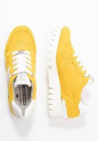 TOM TAILOR - Sneakers laag - yellow - 3
