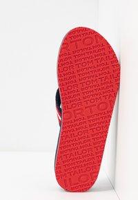TOM TAILOR - Flip Flops - navy/red/white - 6