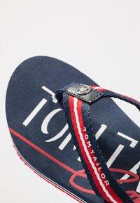 TOM TAILOR - Flip Flops - navy/red/white - 2