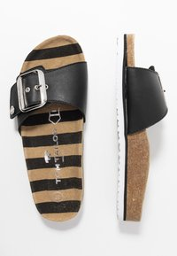 TOM TAILOR - Pantofle - black - 3