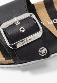 TOM TAILOR - Pantofle - black - 2