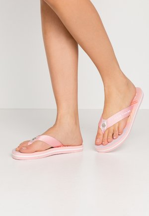 Sandaler m/ tåsplit - coral
