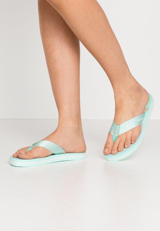 Sandály s odděleným palcem - mint