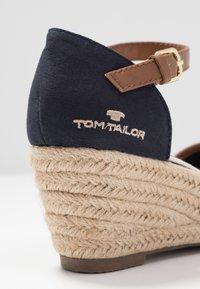 TOM TAILOR - Sleehakken - navy - 2