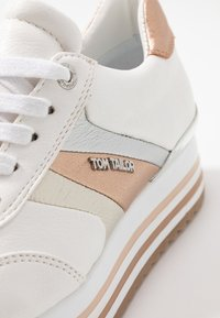 TOM TAILOR - Trainers - white/rose