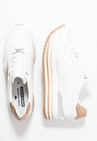TOM TAILOR - Trainers - white/rose - 3