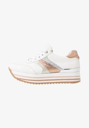 Sneaker low - white/rose