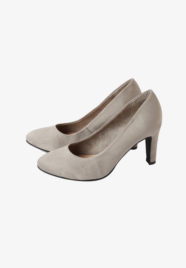 High Heel Pumps - lt.grey