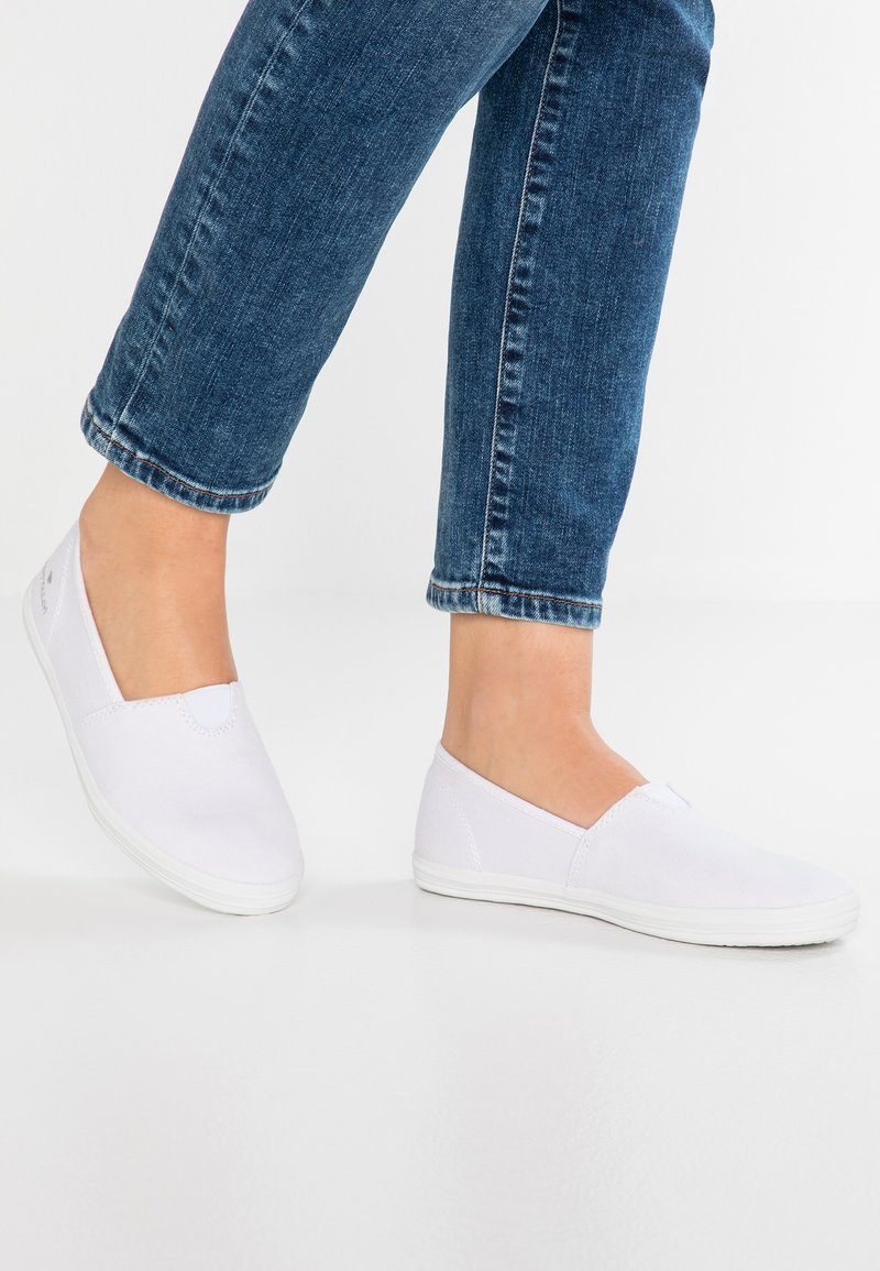 TOM TAILOR - Slip-ons - white