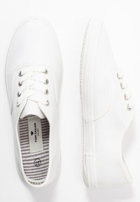 TOM TAILOR - Baskets basses - white - 3