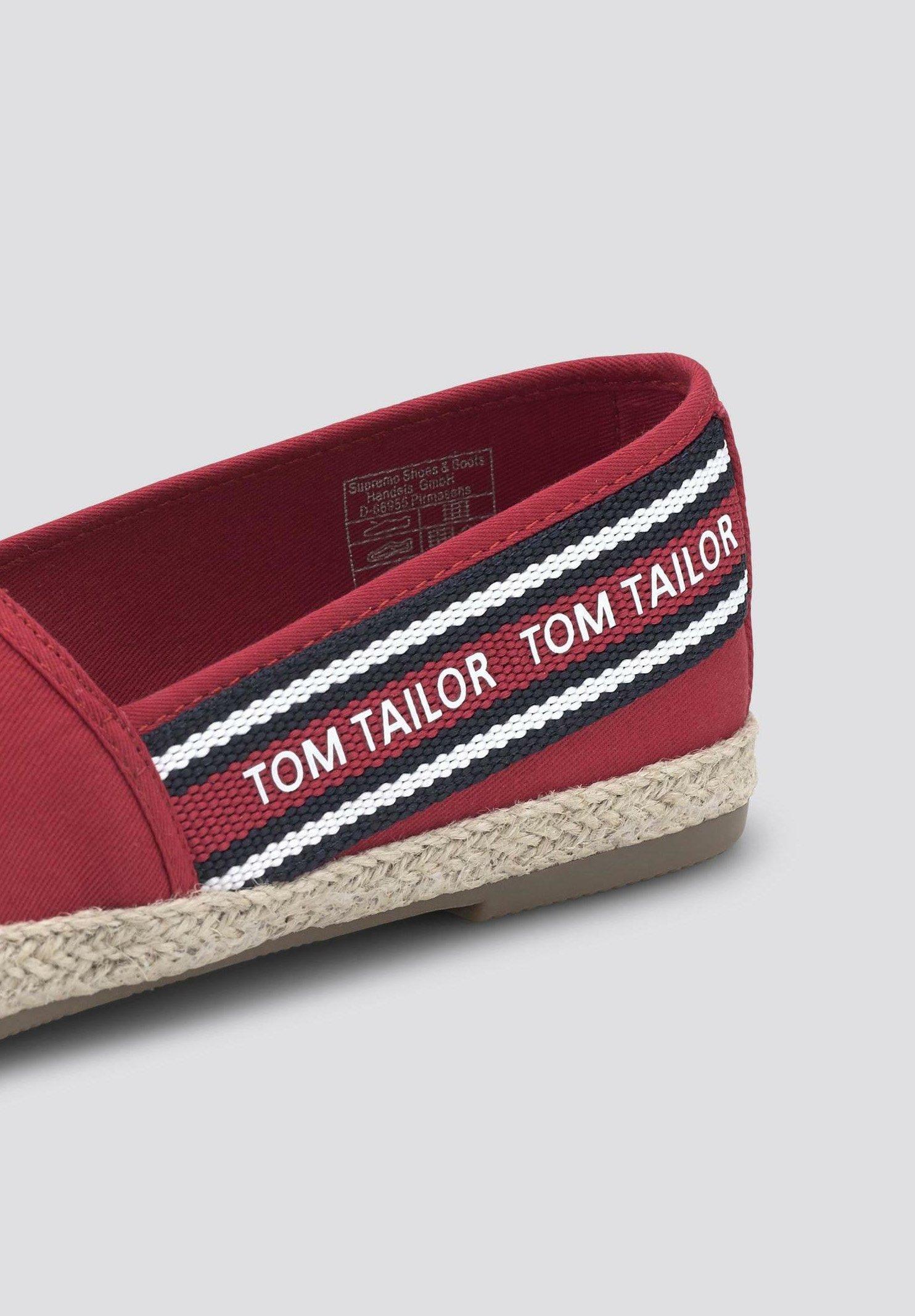 Tom Tailor Espadrilles - Red Goedkope Schoenen
