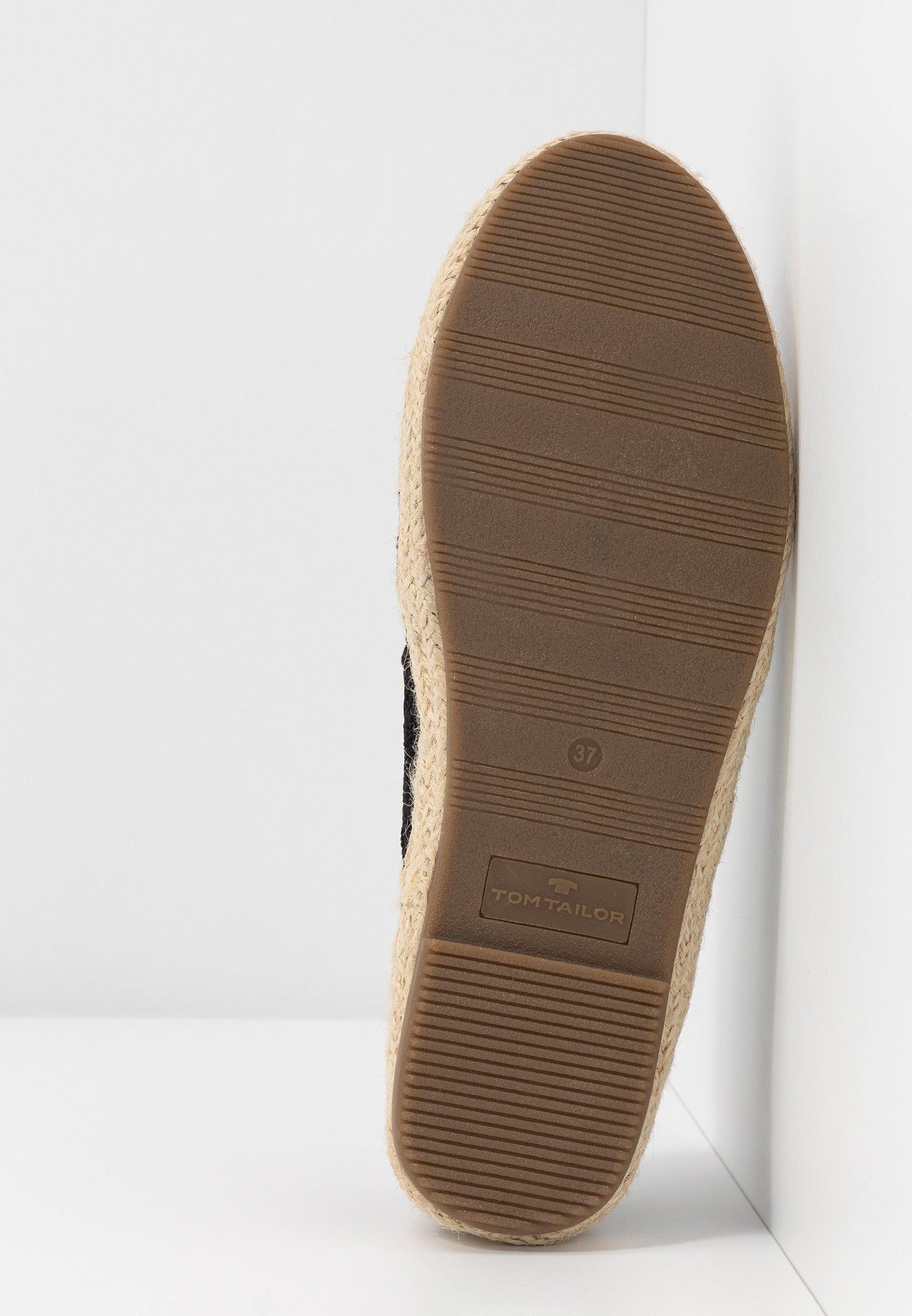Tom Tailor 8092013 - Espadrilles Black Goedkope Schoenen