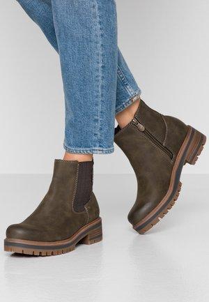 Kotníková obuv - khaki