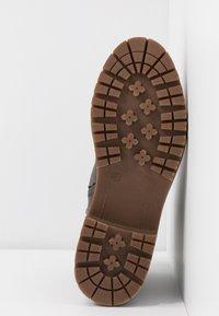 TOM TAILOR - Šněrovací kotníkové boty - coal - 6