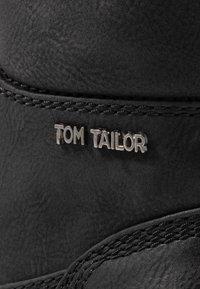 TOM TAILOR - Veterboots - black - 2