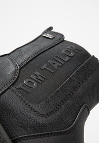 TOM TAILOR - Kotníkové boty - black - 2