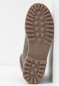 TOM TAILOR - Šněrovací kotníkové boty - mud - 6