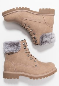 TOM TAILOR - Lace-up ankle boots - nude - 3