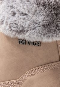 TOM TAILOR - Lace-up ankle boots - nude - 2