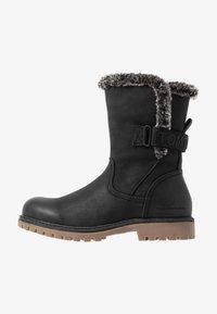 TOM TAILOR - Zimní obuv - black - 1