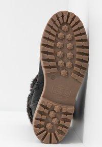 TOM TAILOR - Zimní obuv - black - 6