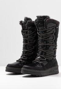 TOM TAILOR - Zimní obuv - black - 4