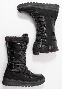 TOM TAILOR - Zimní obuv - black - 3