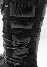 TOM TAILOR - Zimní obuv - black - 2