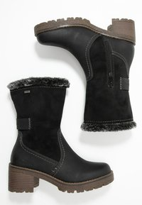 TOM TAILOR - Boots - black - 3