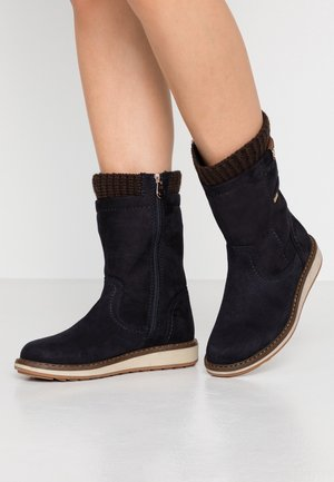 Vysoká obuv - navy