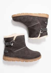 TOM TAILOR - Classic ankle boots - coal - 3