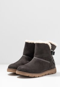 TOM TAILOR - Classic ankle boots - coal - 4