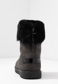 TOM TAILOR - Kotníkové boty - coal - 5