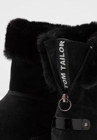 TOM TAILOR - Kotníkové boty - black - 7