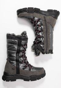 TOM TAILOR - Vinterstøvler - coal - 3