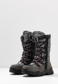 TOM TAILOR - Vinterstøvler - coal - 4