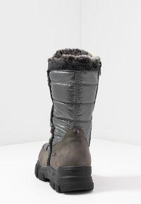 TOM TAILOR - Vinterstøvler - coal - 5
