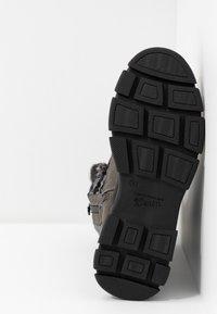 TOM TAILOR - Vinterstøvler - coal - 6
