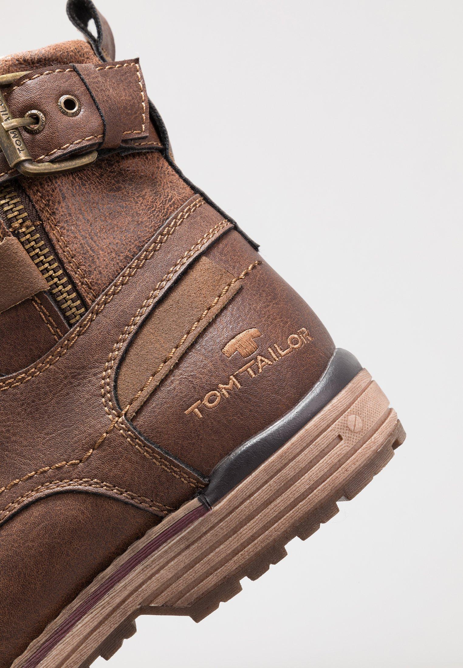 Tom Tailor Snörstövletter - Rust