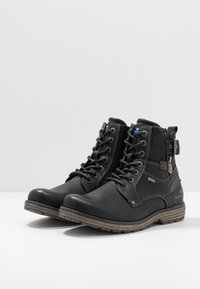 TOM TAILOR - Veterboots - black