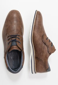TOM TAILOR - Casual lace-ups - nuts - 1