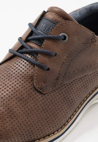 TOM TAILOR - Casual lace-ups - nuts - 5
