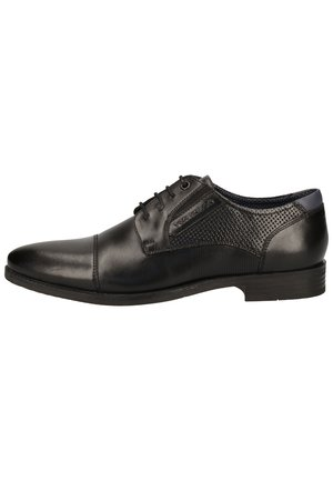 TOM TAILOR BUSINESSSCHUHE - Smart lace-ups - black 00001