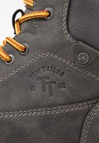 TOM TAILOR - Sneakers hoog - grey - 5