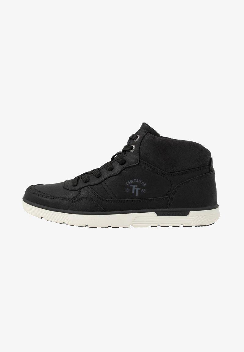 TOM TAILOR - Sneakers hoog - black