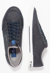 TOM TAILOR - Sneakersy niskie - navy - 1
